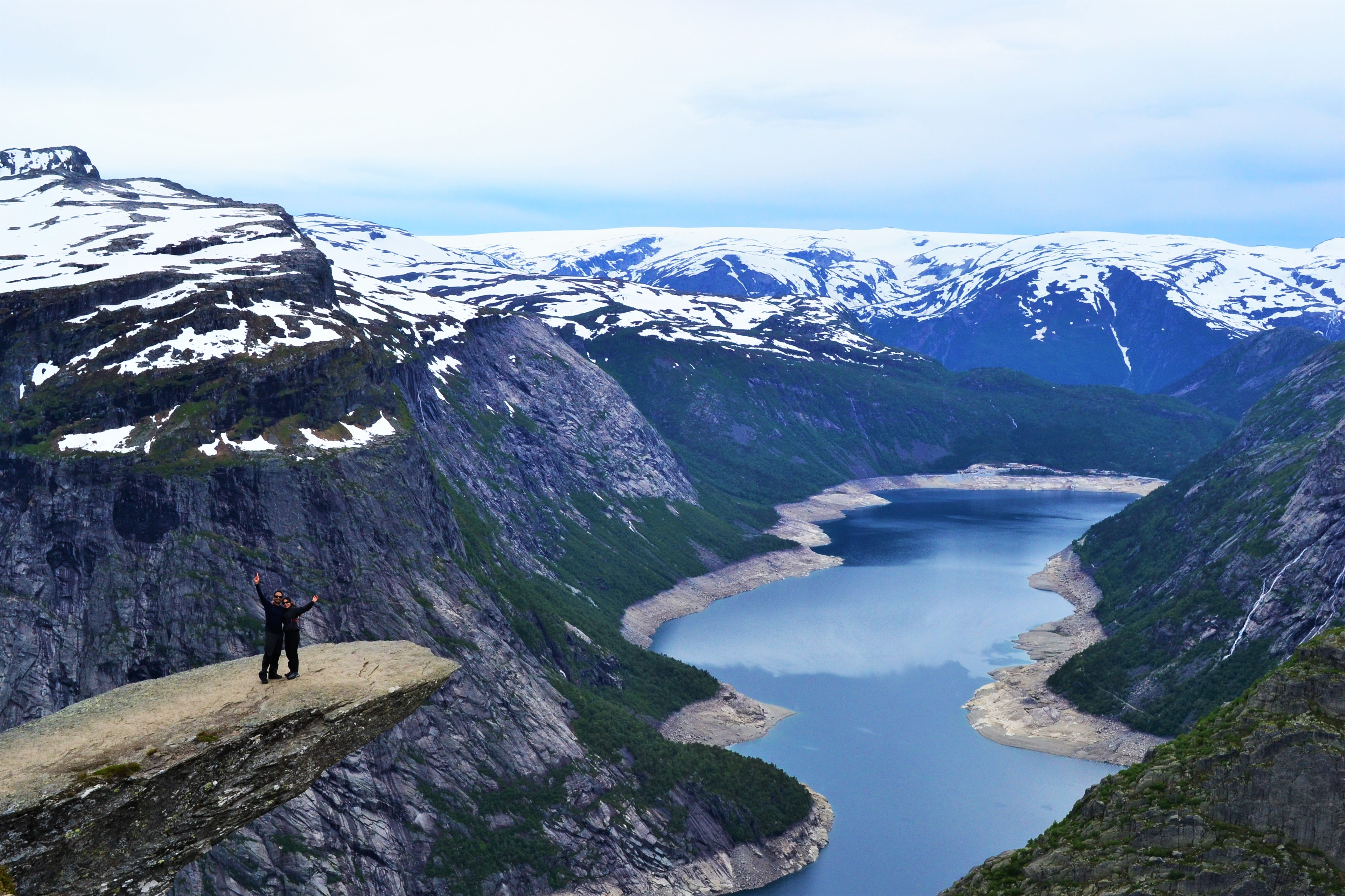 Living on the Edge - Trolltunga, Norway - Restless Bums